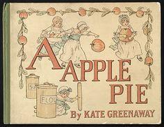Kate Greenaway: 'A Apple Pie'