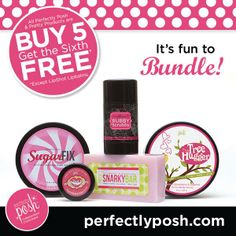 Check out Perfectly Posh!  They have amazing products to pamper you!  I'd love for you to join the Pampering Pursuit....   www.perfectlyposh.us/repsites/frm_bridge.aspx?bridge=JOIN&id=4123