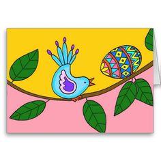 Easter Surprise Ukrainian Folk Art Greeting Cards