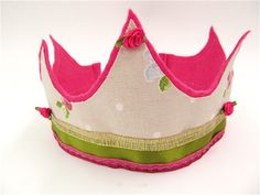 Felt and Fabric crown