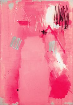 abstract pink art by Federico Saenz-Recio's Art And Illustration, Modern Art, Contemporary Art, Art Rose, Rosa Pink, Guache, Pink Art, Art Design, Graphic Design