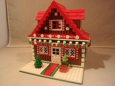 Custom Lego Gingerbread House for 10245 Santa's Workshop | eBay