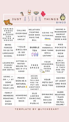 just asian things bingo – for more story templates head to lycheeart on instagra… – Game Day Quotes Snapchat Story Questions, Snapchat Question Game, Instagram Story Questions, Fun Questions To Ask, Instagram Story Ideas, Bingo Template, Templates, Bingo Story, Game Day Quotes