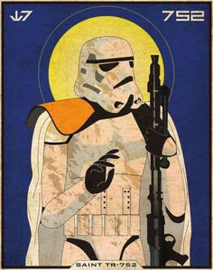 Star Wars Patron Saint Art