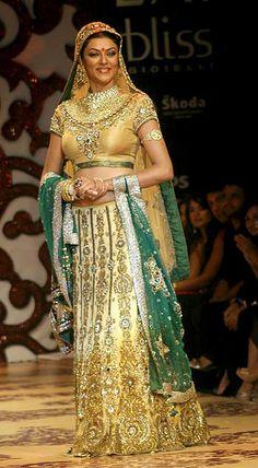 Sushmita Sen in Vikram Phadnis Creation !!!!!!