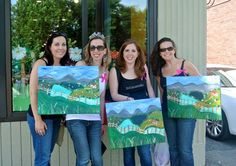 Irish Countryside + Bachelorette Party at The Paint Bar!