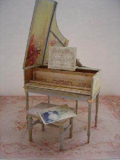 Un clavecin français, for Château XVIIIè: L'Atelier de Léa