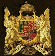 Angyalos címer - coat-of-arms with angels Hungarian Tattoo, Hungary History, Heart Of Europe, Old World Charm, Budapest Hungary, My Heritage, Coat Of Arms, Middle Ages, Folk Art