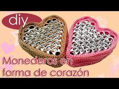 Monederos en forma de corazon para San Valentin / St. Valentines Heart S...