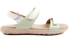 Stylish and comfortable, ladies golf sandals offer relief from leather golf shoes during the warmer months. Shop our large selection at Lori's Golf Shoppe! Check this out --> LOLA Mint Sandbaggers Ladies Golf Sandals