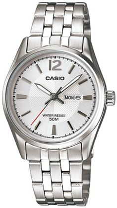 Casio Dress Silver Watch LTP1335D7A >>> You can get more details by clicking on the image.(It is Amazon affiliate link) #2018