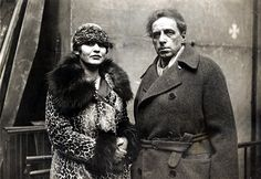 Vsevolod Meyerhold et Zinaida Reich