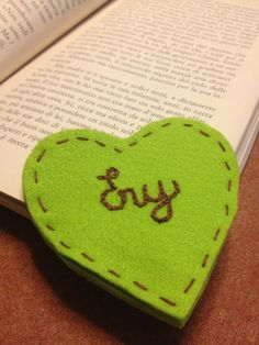 Bookmark #diy #felt #crafts