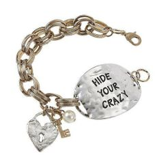Hide Your Crazy Bracelet - The Whimsical Owl