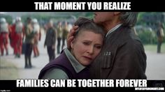 That moment you realize Families Can be Together Forever