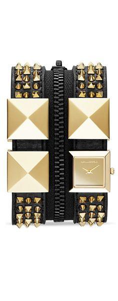 Karl Lagerfield watch / cuff.