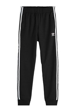 Adidas Originals Track Pants In Black Cute Outfits For Kids, Cute Casual Outfits, Outfits For Teens, Teen Fashion, Korean Fashion, Fashion Outfits, Cute Sweatpants, Adidas Outfit, Adidas Pants