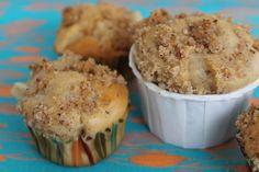 A manger et à voir: Muffins poires / cannelle et son coeur coulant caramel beurre salé / compote de poires, pomme