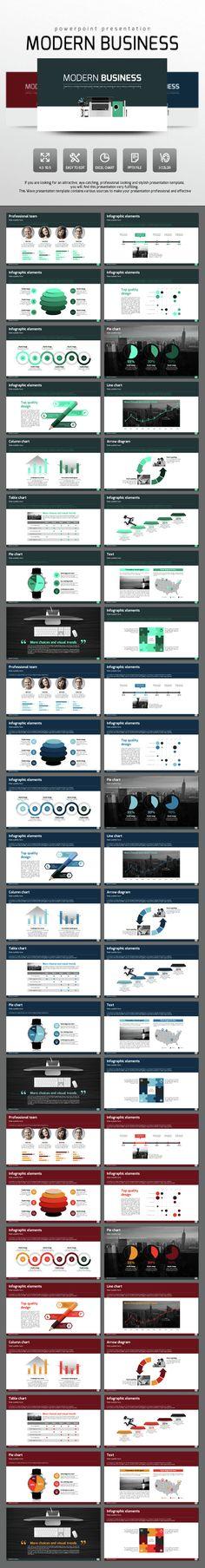 Modern Business (PowerPoint Templates)
