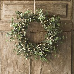 earthy wreath