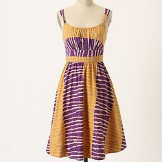 826228e54ba3 Anthropologie Fei Serengeti Zebra Sundress Size 4 Super Cute Dresses, Nice  Dresses, Summer Dresses