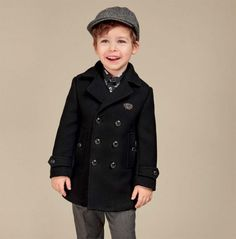 Ropa de lujo para niños invierno 2017: Dolce & Gabbana. #modainfantil #blogmoda #blogmodainfantil