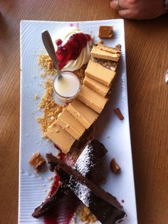 Brownies and caramel bars. By  Stavros Sakellariou