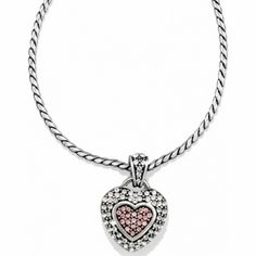 Spread Love Necklace available at #BrightonCollectibles to pair with Power of Pink 2013
