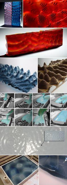 kanecali-glasssculptures-collabcubed.jpg (864×2373)  -- textured glass