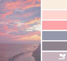 Explore Design Seeds color palettes by collection. Scheme Color, Colour Pallette, Color Palate, Colour Schemes, Color Combos, Color Patterns, Sunset Color Palette, Nature Color Palette, Sunset Colors