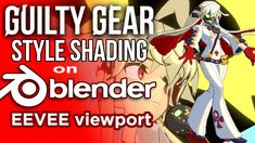 Guilty Gear Stylized shader in Blender's EEVEE (Part 1 of Guilty Gear, The Guilty, Cinema 4d Tutorial, 3d Tutorial, Blender Tutorial, Video Game Development, Color Profile, Blender 3d, All The Way Down