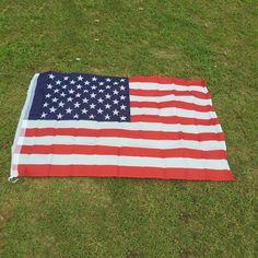90センチ× 150センチポリエステル米国アメリカフラグ米国星ストライプホーム装飾土産