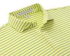 The Sutton Shirt: Kingston - Holderness & Bourne Normal Body, Cutaway Collar, Collar Stays, Golf Outfit, Golf Shirts, Kingston, Cobbler, Mens Tops, Peach