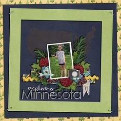 Layout using {These Great States {Minnesota}} Digital Scrapbook Kit by Little Rad Trio http://store.gingerscraps.net/These-Great-States-Minnesota.html