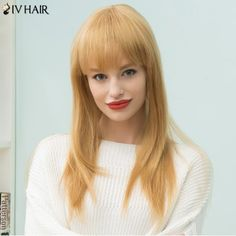GET $50 NOW | Join RoseGal: Get YOUR $50 NOW!http://www.rosegal.com/human-hair-wigs/siv-hair-long-natural-straight-1011028.html?seid=2275071rg1011028