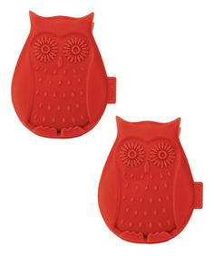 Another great find on #zulily! Owl Bag Clip - Set of Two #zulilyfinds
