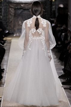 Valentino Haute Couture Spring/Summer 2012 .. my 1970 wedding dress had sleeves like this - this dress is amazing