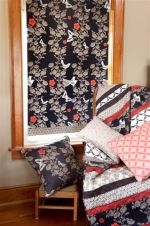 Make a Roman shade using your favorite fabric