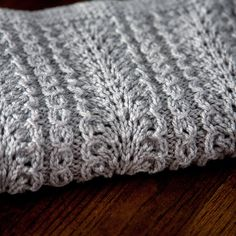 Ostrich  Hand Knit Baby Blanket  Made to Order by TheCreativeGene, $58.00