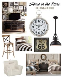Inspiration Board :: Decorating Our House in the Pines - The TomKat Studio http://www.thetomkatstudio.com/ourhouseinthepines/