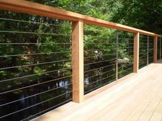 Ultra-tec Deck Cable Railing - modern - fencing - The Cable Connection