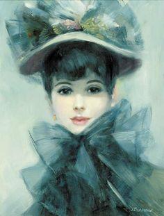 John Lloyd Strevens 1902-1990 | British Edwardian Era painter