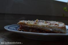 milchmädchen: Lasagne mit Schafskäse