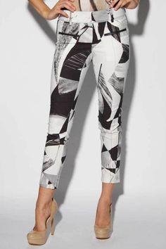 Hampden Clothing - Cubist Print Pants, $395.00 (http://shop.hampdenclothing.com/cubist-print-pants/) @Robert Petrina LANG
