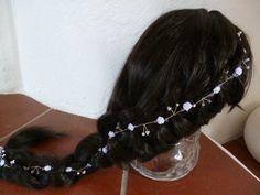 Haarband zur Hochzeit / Kommunion- XXL von Kränzchen und Co. auf DaWanda.com
