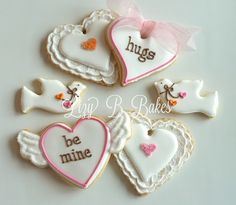 Lizy B: Simple Valentine's Day Cookies!