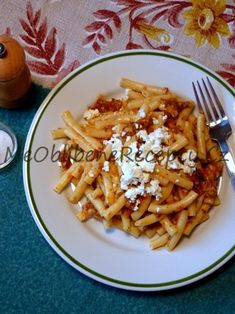 Pesto ze sušených rajčat Pesto, Macaroni And Cheese, Spaghetti, Ethnic Recipes, Mac And Cheese, Noodle