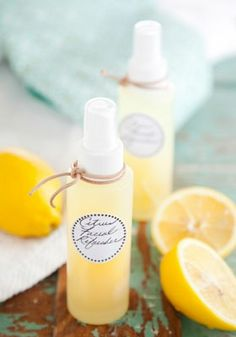 Easy Homemade Christmas Gift Ideas - Citrus Facial Refresher - Click pic for 25 DIY Inexpensive Christmas Gifts for Kids