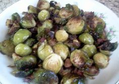 Bacon Roasted Brussel Sprouts Recipe -  Are you ready to cook? Let's try to make Bacon Roasted Brussel Sprouts in your home!