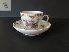 FILIŻANKA KOLEKCJONERSKA  MALOWANA - KD Tea Cups, Tableware, Pretty, Dinnerware, Tablewares, Dishes, Place Settings, Cup Of Tea